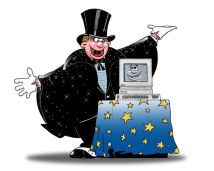 Computer Magician: iStock_000000428956Large