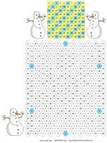 A Times Table Puzzle