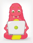 Funny Monster. Coder.
